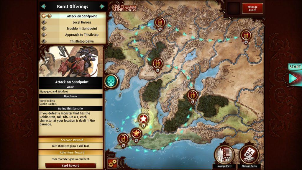 Pathfinder Adventure Card Game 1