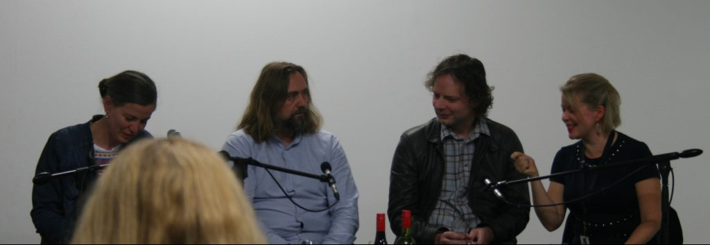 LTR Karina Szczurek, Carl Frode Tiller, Marcus Low, and Elina Hirvonen