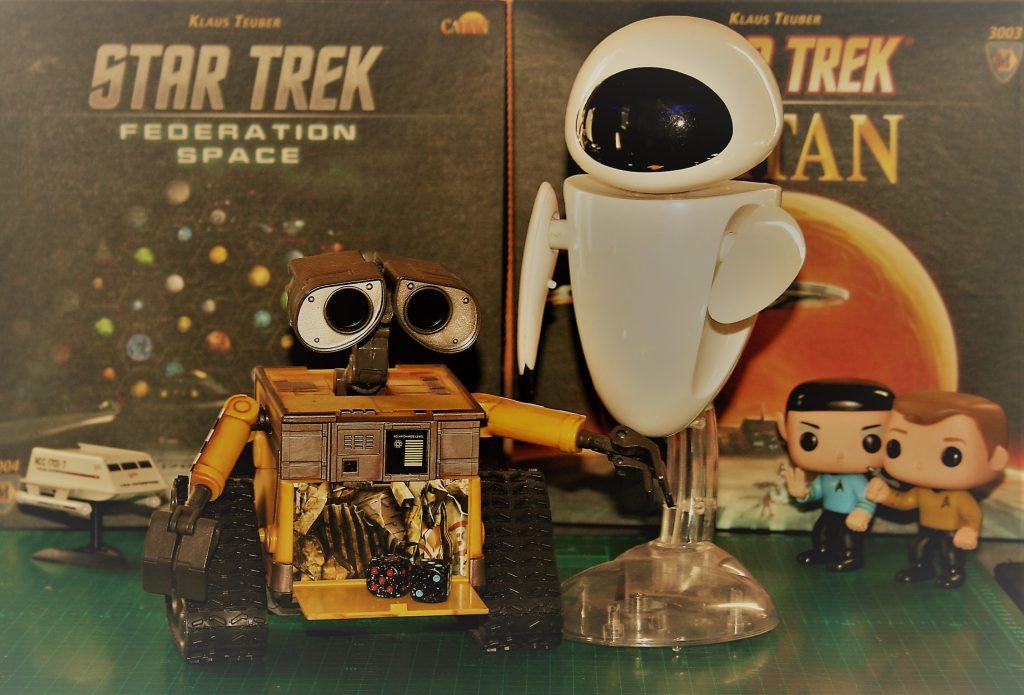 LTR NCC-1701/7, Wall-E, EVA, Spock & Kirk