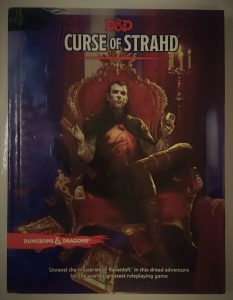 Curse of Strahd hard cover
