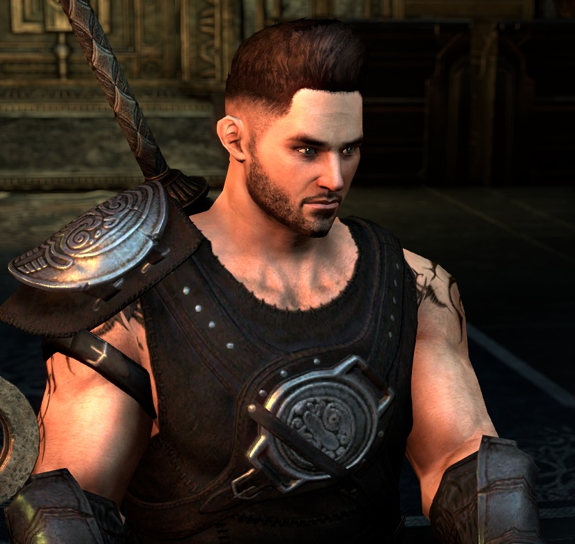 Portrait of Grogg Hammerfist, created in Elder Scrolls Online by Valkyrion