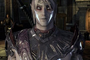A dark elf character from Elder Scrolls Online