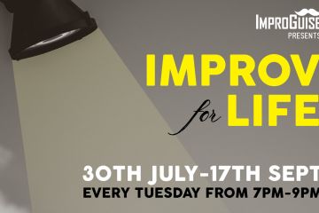ImproGuise presents: Improv for Life. 30th July-17th Sept, every Tuesday from 7 PM to 9 PM. Eight week improv course for beginners. Learn to be: Creative, imaginative and spontaneous; work as a team by listening and accepting; communicate with confidence; let go of your fear of failure; take risks. Cost: R2,000 (R250 discount if you pay before 23 July). Waterfront Theatre School, Port Road, Cape Town. Contact Tandi Buchan (084 611 7270), tandi buchan (at) gmail.com