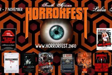 South African HorrorFest banner
