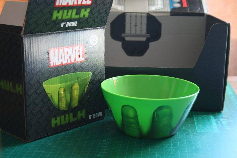 "Marvel Hulk 6"" Bowl"
